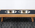 HOW TO: Make a DIY modern raised dog bowl